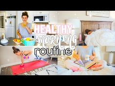 mornings are my favorite part of the day! ♥ I'm sharing what I do in the morning to start it off healthy! what's your favorite part of your morning routine? Chelsea Crockett, Rachel Talbott, Cambria Joy, Jamie Grace, Mylifeaseva, Healthy Morning Routine, Blogilates, Beauty Magazine, My Favorite Part