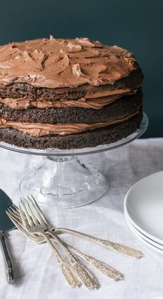 Essential Recipe: Chocolate Layer Cake — Recipes from The Kitchn | The Kitchn   (HUDSON BIRTHDAY)