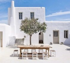 home tour, Greece, Greek Isles, vacation home, indoor outdoor living, minimalist, rustic, beach house