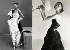 1950s models. Classic. Classy. Elegant. Modest.