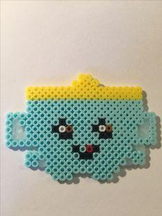 Shopkin, Sippy Sips, perler beads