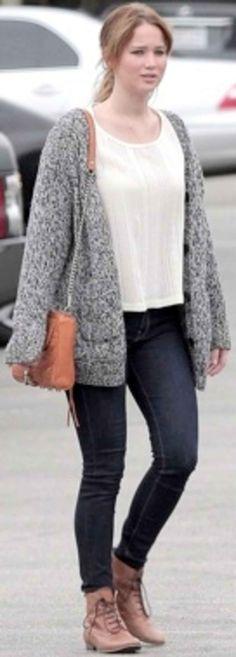 Celebrity Street Style of the Week: Jennifer Hudson, Jennifer Lawrence,