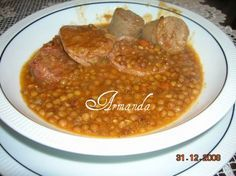 Ogni 31 dicembre in casa mia è di tradizione, le lenticchie, è un piatto buonissimo e fa molto bene quest'anno ho aggiunto anche della salsiccia ingredienti 700 gr di lenticchie 1 zampone 4 s…