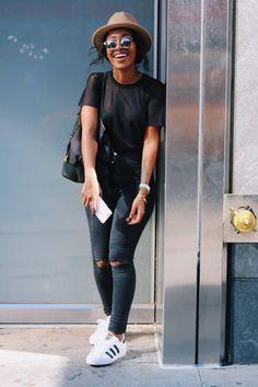 Summer Outfits Black Women Fashion Ideas Sommer Outfits Schwarze Frauen Mode Ideen Summer Outfits Black Women Fashion Ideas Classy Summer Women Outfit Over 40 Summer Women Outfit 2019 Summer Women Outfit - Beso Street Style Outfits, Chic Outfits, Fashion Outfits, Fashion Trends, Fashion Killa, Work Outfits, Fashion Boots, Black Women Fashion, Look Fashion