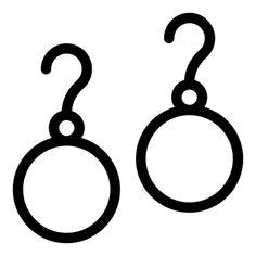 Earrings - Free icon from IconBros Shop Icon, More Icon, Luxury Shop, Cute Drawings, Luxury Fashion, Icons, Jewels, Elegant, Diamond