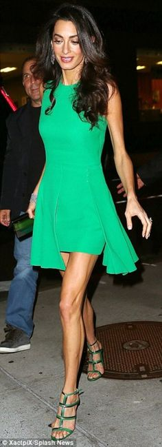 Amal Clooney attended O Brother, Where Art You ? 15th Anniversary in Versace –…