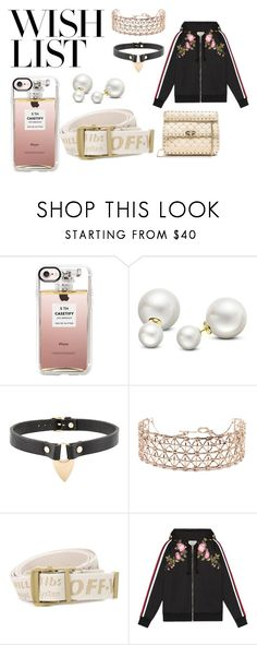 """""""Wishlist: January 2018"""" by annedevlin on Polyvore featuring Casetify, Allurez, Absidem, Co.Ro, Off-White, Gucci, Valentino, gucci, offwhite and chokers"""