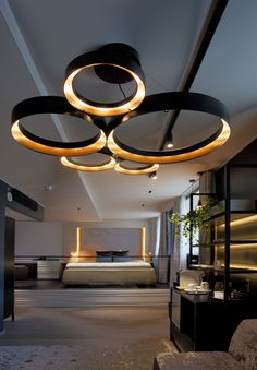 Modern luxury lighting interior designs that will inspire you! Home Design Decor, House Design, Home Decor, Design Hotel, Design Ideas, Design Design, Design Projects, Pub Decor, Cafe Design