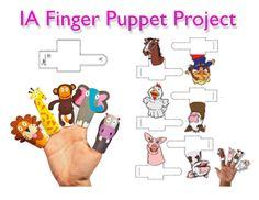 Vingerpopjes / fingerpuppets