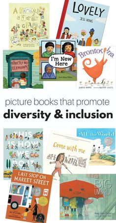 These picture books are powerful tools to help teach children about diversity and inclusion in classrooms and in the home. Preschool Books, Books For Preschoolers, Book Activities, Sequencing Activities, Craft Books, Preschool Crafts, Character Education, Art Education, Teacher Education