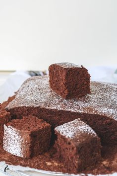 Recipe for my grandma& cocoa cake - When we visited my grandma in the Mühlviertel on Sundays, public holidays or in between, there was - Donut Recipes, Baking Recipes, Keto Recipes, Cake Recipes, Dessert Recipes, Desserts, Keto Donuts, Baked Donuts, Donuts Donuts