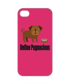 Show Your Pug Love With This iPhone 4 Case