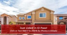 Priced at $199,900 in El Paso - close to post and just in time for PCS Season!   Up-to-date photos, maps, schools, neighborhood info. & details for 14435 Coyote Trail Dr, El Paso, TX