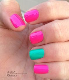 Use white as a base color to make neons really pop