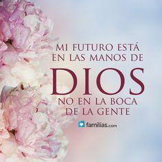 Mi futuro está en las manos de Dios