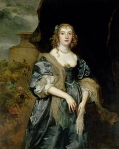 Anne Russell née Carr (1615-1684), Countess of Bedford. Married to William 1st Duke
