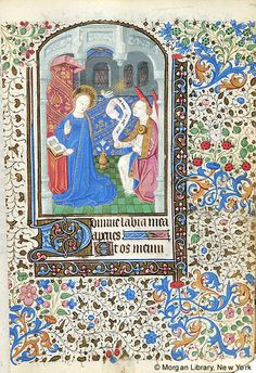 Book of Hours, MS M.169 fol. 24r - Images from Medieval and Renaissance Manuscripts - The Morgan Library & Museum