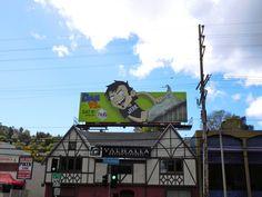 Dan Vs cartoon billboards...