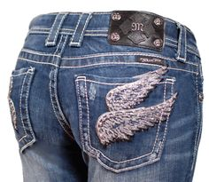 I can't wait to get back in my miss me jeans after the baby :)