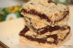 Schokoladige Haferflocken-Keks-Schnitten | fudgy oatmeal cookie bars / sabo (tage) buch