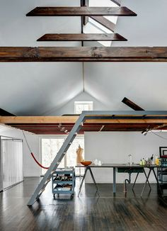 that house you liked - skylight, sleeping loft.  kitchen is ridunculous.