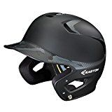 Easton Senior Z5 2 Tone Basecamp Batting Helmet, Black   Abs plastic provides an excellent protective shell against high impacts Dual density foam, made up of high density shock absorbing foam and low density comfort foam biodri liner absorbs sweat and pulls it away from your head Wrapped ears...