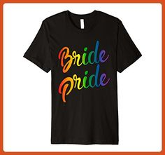 Mens proud Bride Pride lgbt flag shirts 3XL Black - Wedding shirts (*Partner-Link)
