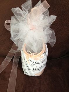 Decorated Pointe Shoes by CareysFineCreations on Etsy, $25.00
