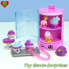 Besides the and there are various playsets that you can get, all with exclusive Shopkins you can only get in the playsets: EASY SQUEEZY FRUIT & VEG STAND (Season This. Shopkins List, Shopkins Food Fair, Shopkins Season 3, Shopkins Playsets, Cupcake Collection, Easter Chocolate, Monster High Dolls, Tissue Box Covers, Plastic Canvas Patterns