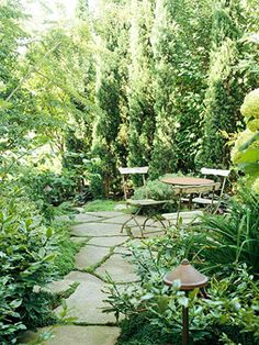 Garden Landscaping - Maximize the impact of minimal yards with these small garden, small yard, and small backyard landscaping ideas. Small Gardens, Outdoor Gardens, Outdoor Rooms, The Secret Garden, Hidden Garden, Small Backyard Landscaping, Backyard Seating, Landscaping Ideas, Backyard Privacy