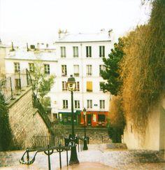 paris the beautiful steps of Montemarte!