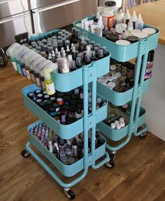 Organisation Let's tour my craft room! How Floor Plans Can Save You Money Article Body: In almost Art Studio Room, Art Studio Design, Craft Room Design, Art Studio At Home, Deco Design, Craft Room Organisation, Craft Room Storage, Scrapbook Room Organization, Scrapbook Rooms