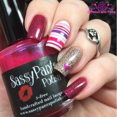 Nail Art ~ Sassy Pants Polish First Crush