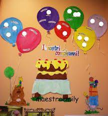 Risultati immagini per calendario compleanni scuola dell'infanzia