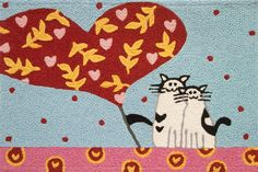 Authorized retailer for the Jellybean® brand rug, Jellybean® Memory Foam, Jellybean® Home & Garden, Homefires™ Accent and Indoor/Outdoor rugs. Cat Lover Gifts, Cat Gifts, Cat Lovers, Cat Rug, Novelty Rugs, Accent Rugs, Indoor Outdoor Rugs, Jelly Beans, Valentine Gifts