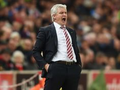 Stoke City boss Mark Hughes rejects rumours club are unhappy with Wilfried Bony