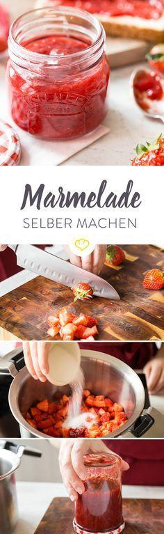 Du willst Marmelade selber machen? Alles, was du brauchst, ist etwas Geduld und Zeit und … eine kleine Anleitung rund um das Thema Marmelade. Und die bekommst du genau hier.