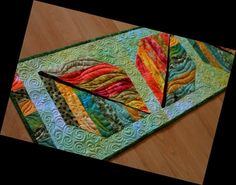 Table Runner And Placemats, Quilted Table Runners, Tablerunners, Mini Quilts, Table Toppers, Quilting Projects, Place Mats, Fabric, Pattern