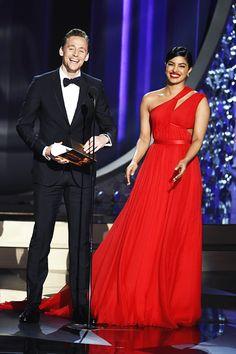 Tom Hiddleston and Priyanka