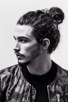 Call it manbun or hairbun or top knot - trending , isnt it?