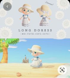 Animal Crossing Memes, Animal Crossing Qr Codes Clothes, Animal Crossing Villagers, Dress For Summer, Summer Dresses, Summer Clothes, Wild Animals Photos, Ac New Leaf, Motifs Animal