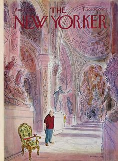 The New Yorker - Saturday, August 21, 1971 - Issue # 2427 - Vol. 47 - N° 27 - Cover by : James Stevenson