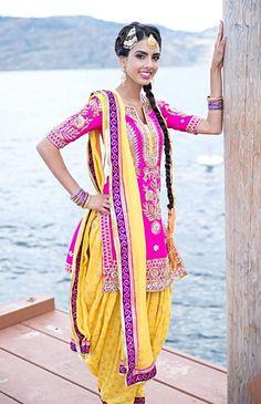 Gorgeous Punjabi suit #patiala