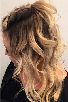 layered hair styles 17 chic braided hairstyles for medium length hair 2485