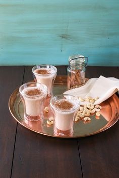 Raw Cashew Horchata, from The Abundance Diet