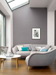 Colours can speak so much. From real personality to desired living room look, count on colours. And don't hesitate to experiment with unusual colours for the area. In our list of living room . Read Elegant Living Room Color Ideas 2020 (Don't Miss Em) Elegant Living Room, New Living Room, Living Room Furniture, Living Room Decor, Modern Living, Small Living, Minimalist Living, Living Room With Grey Walls, Cozy Living