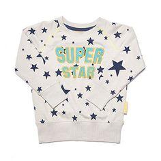 Superstar Crew Neck Sweatshirt by Boys and Girls - Junior Edition www.junioredition.com