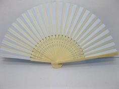 10X DIY Plain Blue Paper Hand Fans for Wedding 21cm [fan42] - $16.00 : Sunrise Imports Where Everybody pays the wholesale price