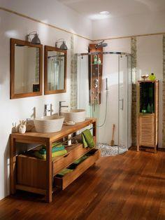 1000 images about salle de bain on pinterest bathroom - Meuble de salle de bains lapeyre ...