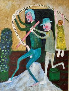 Naive Art, Outsider Art, Cool Art, The Outsiders, Arts And Crafts, Illustration, Inspiration, Friday, Paintings
